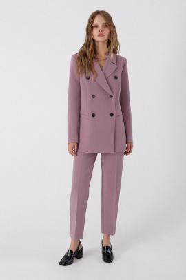 Женский костюм PiRS 3383 серо-розовый