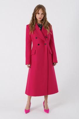 Пальто PiRS 3388 ярко-розовый