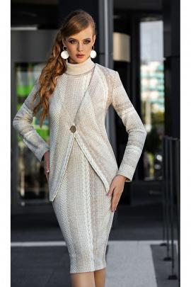 Кардиган, Платье Diva 1335 св.беж