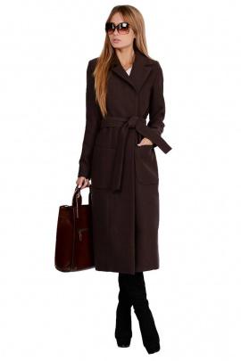 Пальто PATRICIA by La Cafe NY1818 коричневый,коричневый