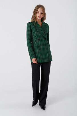 Женский костюм PiRS 3421 черно-зеленый