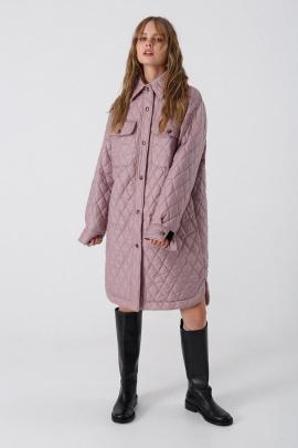 Пальто PiRS 3430 розовый