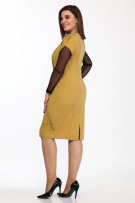 Платье Lady Secret 3581 горчица