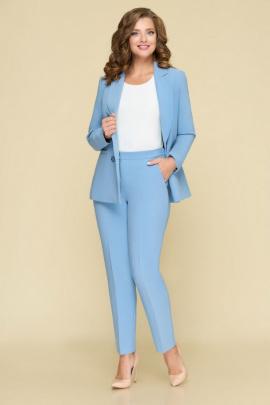 Женский костюм DaLi 3353 голубой