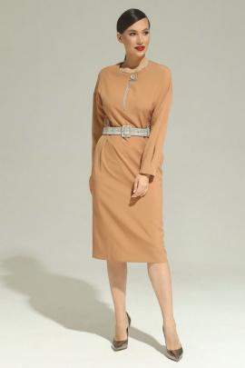 Платье Магия моды 1948 карамель