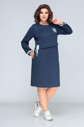 Платье Bonna Image 622 синий