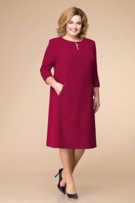 Платье Romanovich Style 1-1729 бордовый