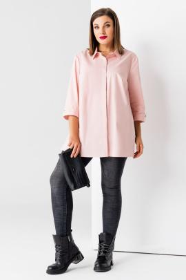 Блуза Панда 457341 пыльно-розовый