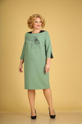 Платье Ксения Стиль 1940 мята