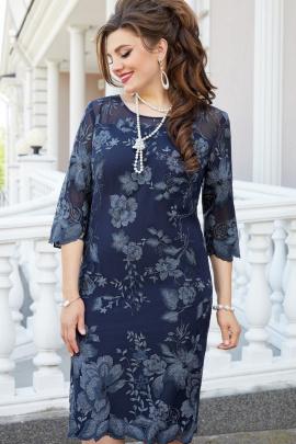 Платье Vittoria Queen 14813/1 темно-синий