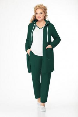 Женский костюм Bonna Image 555 зеленый