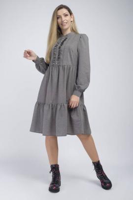 Платье Effect-Style 801 мокко