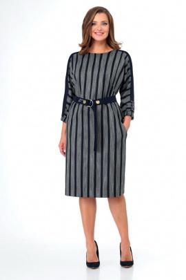 Платье Мишель стиль 998 синий