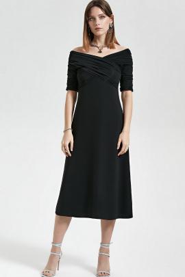 Платье Moveri by Larisa Balunova 5683 черный