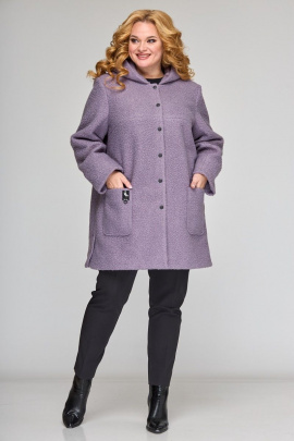 Пальто Angelina & Сompany 606 сирень