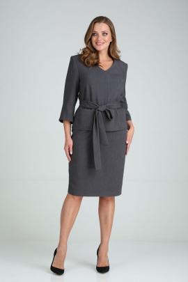 Женский костюм GALEREJA 652 темно-серый