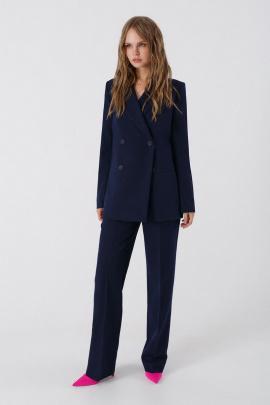 Женский костюм PiRS 1668 темно-синий