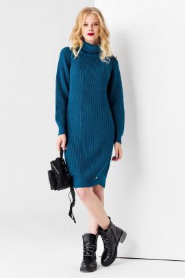 Платье Панда 14180z зеленый