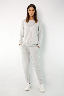 Спортивный костюм Kivviwear 4048-4051 светло-серый