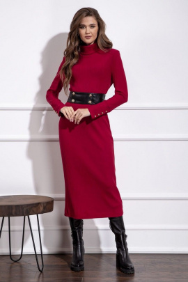 Платье Nova Line 50149 рубиновый