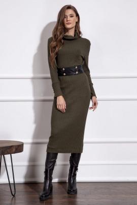 Платье Nova Line 50149 хаки