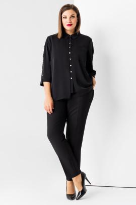 Блуза Панда 77640z черный