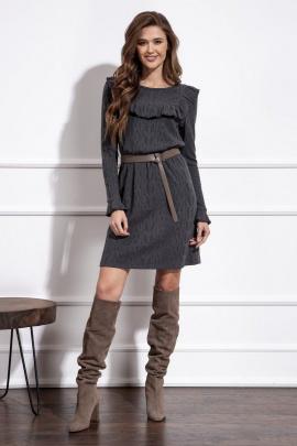 Платье Nova Line 50153 серый