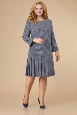Платье Svetlana-Style 1429 синий+узор