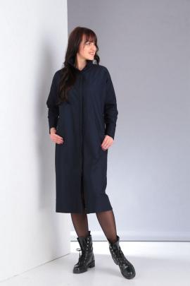 Платье VIA-Mod 489 темно-синий