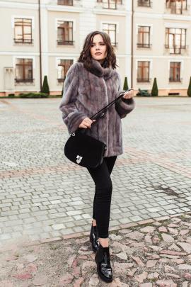 Куртка Мехофф Елена70.602-120 дымок