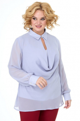 Блуза, Топ Anelli 1087 серый