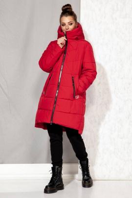 Полупальто Beautiful&Free 4064 красный