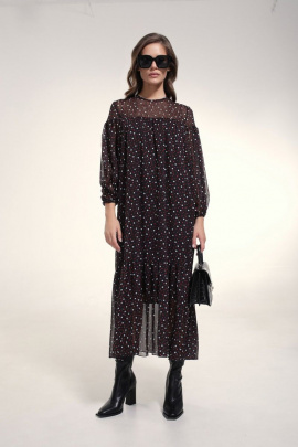 Платье MilMil 1032-21BR Бордо