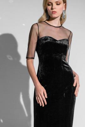 Платье Moveri by Larisa Balunova 5462 черный