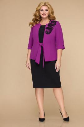 Комплект Svetlana-Style 1700 фиолетовый+чёрный