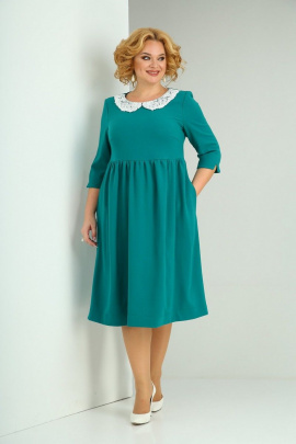 Платье SOVITA M-2132 изумруд