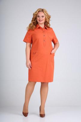 Платье Mamma Moda М-600 оранжевый
