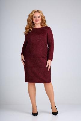 Платье Mamma Moda М-670 бургунд