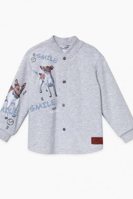 Рубашка Bell Bimbo 212039 серый меланж