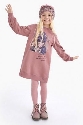 Платье Bell Bimbo 212050 розово-коричневый