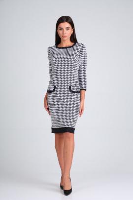 Платье Moda Versal П1487 черно-белый