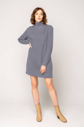Платье Ivera 1040 серо-голубой