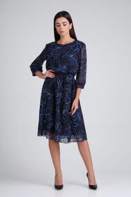 Платье Moda Versal П2318 синий
