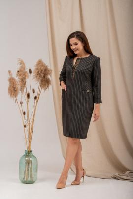 Платье Angelina 5721 хаки