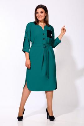 Платье Karina deLux М-9903/2 бирюза