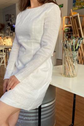Платье Puella 3012 белый