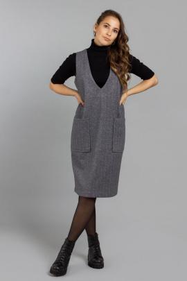 Сарафан Mirolia 967 серый