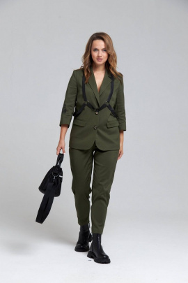 Женский костюм SandyNa 130509 хаки