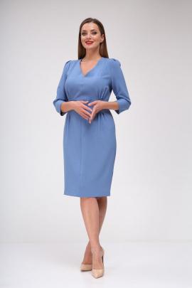 Платье Vilena 658 голубой