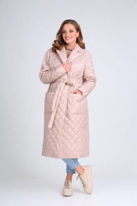 Пальто Modema м.1023/2 пыльная_роза